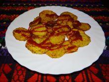 Pieczone ziemniaki z czubrycą