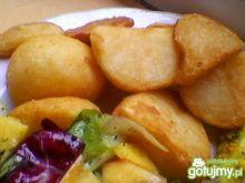 Pieczone ziemniaki z masłem
