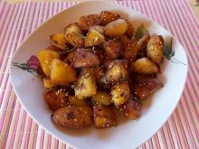 Pieczone ziemniaki z orientalnym smakiem