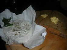 Pieczony camembert