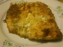 Pieczony filet z łososia