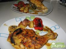 Pieczony kurczak w cytrynach
