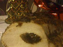 Pieczony schab śliwkowy