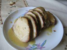 Pieczony schab z sosem