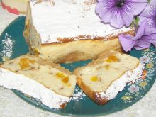 Pieczony sernik z delicjami bez spodu i tłuszczu