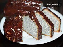 Piegusek z białek w czekoladzie