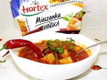 Piekielna zupa z mięsem i warzywami po chińsku