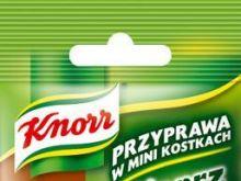 Pieprz kolorowy w mini kostkach Knorr
