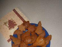 Pierniczki na miodzie i sodzie z brązowym cukrem