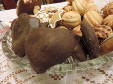 Pierniczki nadziewane w czekoladzie