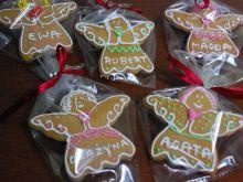 Pierniczki rumowe - aniołki