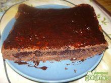 Piernik na miodzie, oblany czekoladą