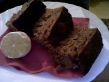 Piernik z polewą czekoladową