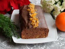 Ciasto korzenne ze skórką pomarańczową