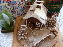 Piernikowa chatka na Boże Narodzenie