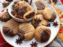 Piernikowe ciasteczka z masła orzechowego