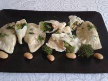 Pierogi brokułowo- fasolowe