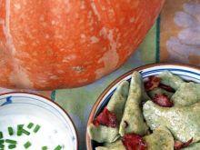Pierogi dyniowo-serowe