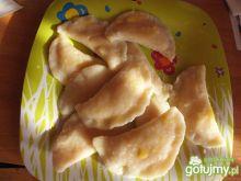 Pierogi na słodko z serem