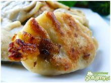 Pierogi po wiejsku - z kaszanką i cebulą