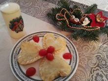 Pierogi - serca ze szpinakiem i serem