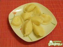 Pierogi z gruszkami i serem twarogowym