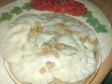 Pierogi z kaspustą i grzybami