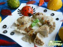 Pierogi z kaszą gryczaną i białym serem