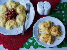 Pierogi z kaszą jaglaną i serem