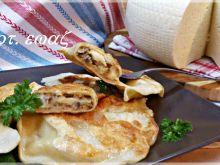 Pierogi z kaszą jaglaną i serem korycińskim