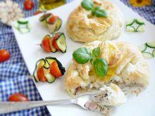 Pierogi z mięsem i jajkiem