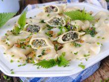 Pierogi z pokrzywowym serem