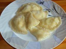 Pierogi z serem i cukrem