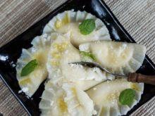 Pierogi z serem i kokosową nutą