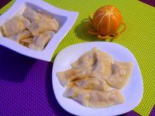 Pierogi z serem i skórką pomarańczową