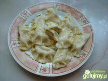 Pierogi z serem twarogowym i cynamonem