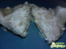Pierogi z serem w śmietanie
