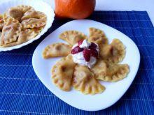 Pierogi z truskawkami w innej wersji