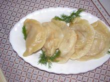Pierogi z żółtym serem