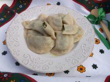 Pierogi ze szpinakiem i serem feta