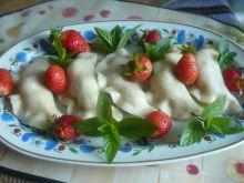 Pierożki jagodowo- truskawkowe