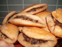 Pierożki pieczone z pieczarkami
