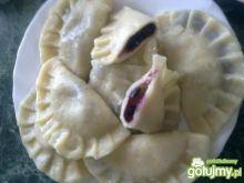 Pierożki z jagódkami:-)