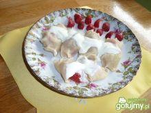 Pierożki z truskawkam