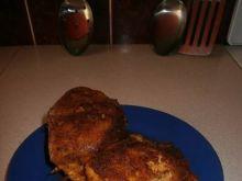Pierś z kurczaka nadziewana pieczarkami