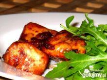 Pierś z kurczaka pieczona w żurawinie