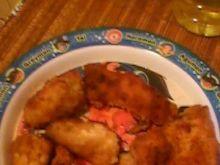 Pierś z kurczaka w bułce