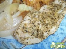 Pierś z kurczaka w chrzanowej marynacie