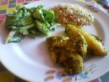 Pierś z kurczaka w curry