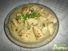 Pierś z kurczaka w sosie cebulowym